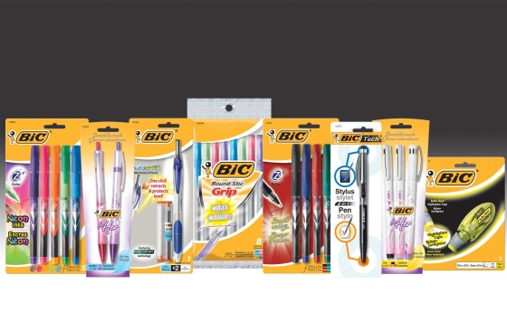 Back To School with Bic Pens and Pencils