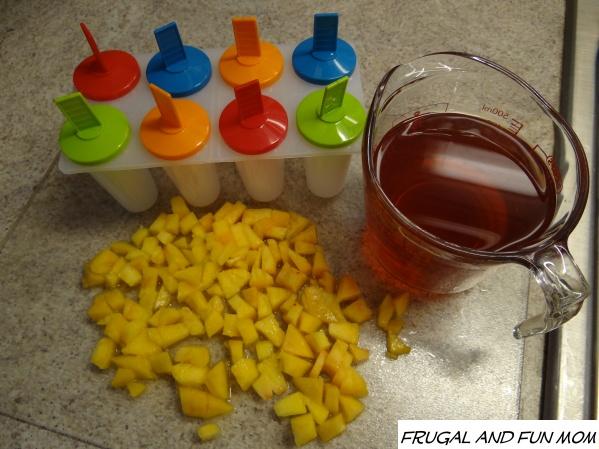 Perfect Peach Tea Ice Pops! #AmericasTea #shop #cbias