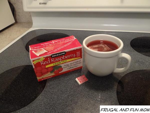 Red Raspberry Herb Tea, Back To School Routines with Walmart and Bigelow Tea #AmericasTea #shop #cbias