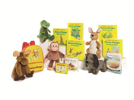 Curious George Kohl's Cares Collection Plush Dolls