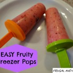 Easy Fruity Freezer Pops Recipe! A Simple Treat That My Kids LOVE!