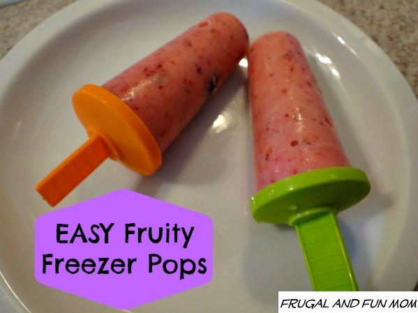 Easy Fruity Freezer Pops