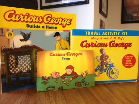 Giveaway Prize Curious George