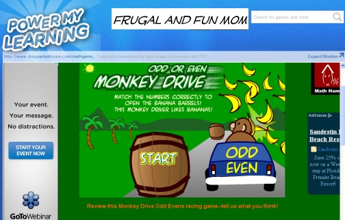Odd and Even Monkey Drive