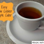 Slow Cooker Apple Cider Recipe! Easy To Make With Only 4 Ingredients!