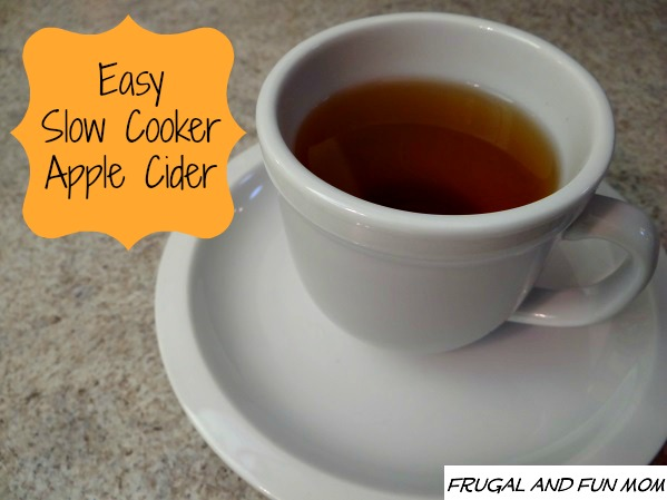 how to make mulled cider in a slow cooker