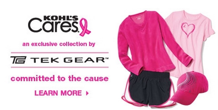 Kohl's Care Breast Cancer Awareness