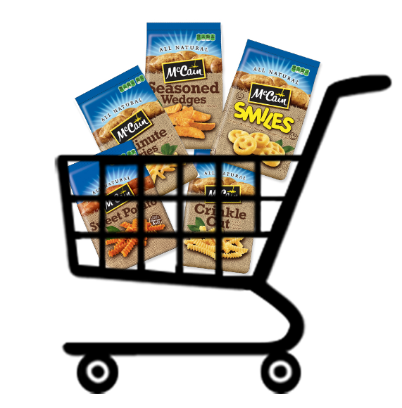 $500 Grocery Store Gift Card Giveaway at McCain Potatoes! Plus, Print A $1 off Coupon for Any 1 Bag of McCain Potato Products!