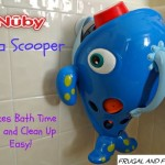 Nuby Sea Scooper Bath Toy Review and Giveaway! Makes Bath Time Fun and Clean Up Easy!