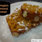 Pumpkin Almond Bread Recipe! A Fall Dessert That Looks Pretty and Tastes Wonderful!