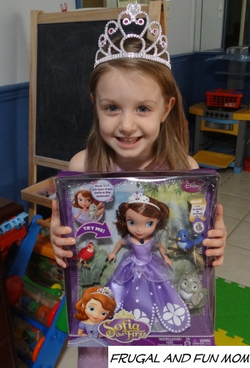 Review and Giveaway of Disney Sofia the First Talking Sofia and Animal Friends! My Daughter LOVES This Toy!