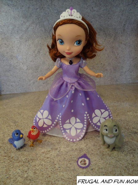Sofia the first talking doll 006