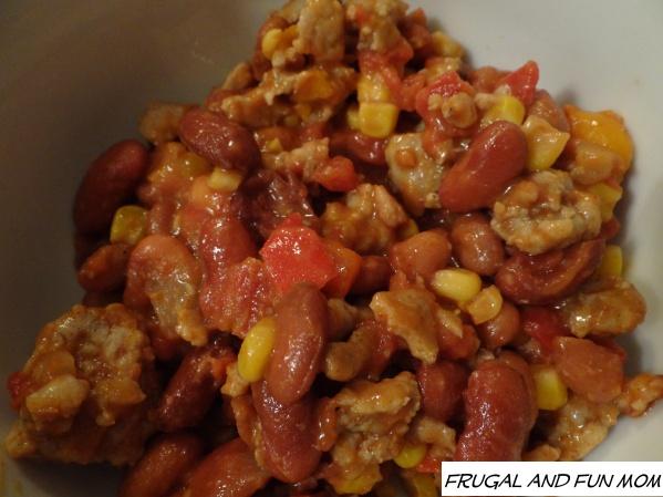 Sweet Two Bean Chicken Chili 021