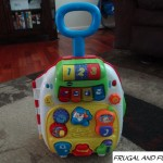 VTech Roll & Learn Activity Suitcase Review and Giveaway! A Fun Toy, Great for Hand-Eye Coordination!