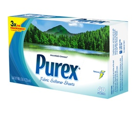 purex dryer sheets mountain breeze