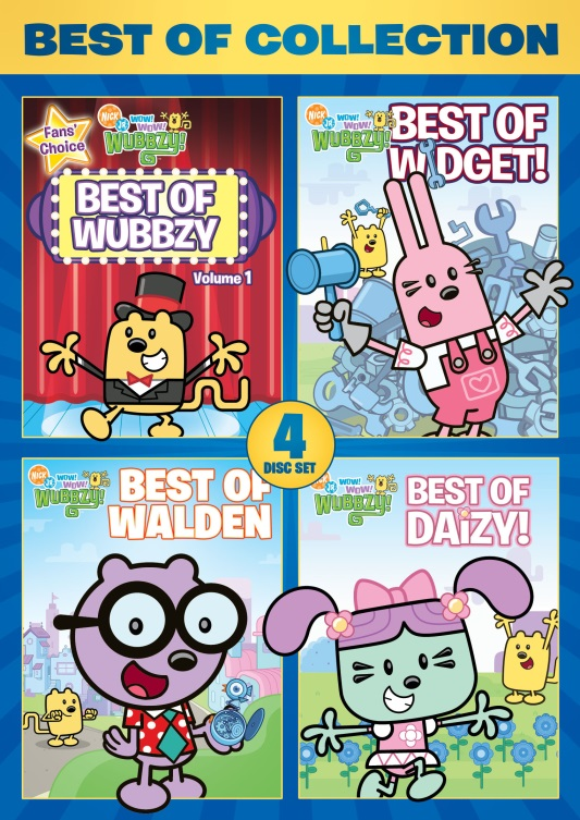 Best of Wubbzy Collection DVD