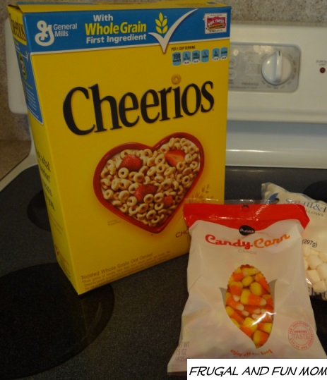 Cheerios Halloween Treat