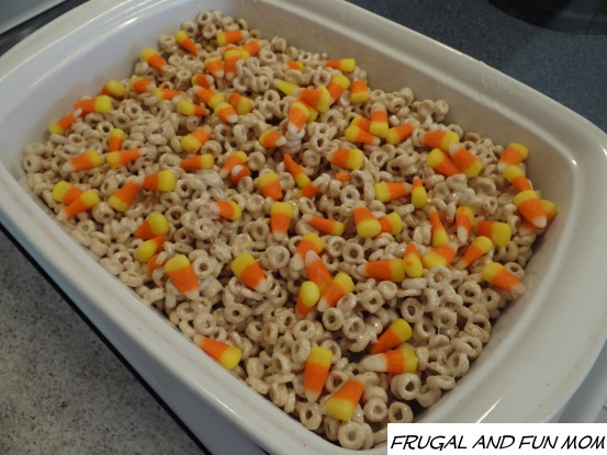 Cheerios with Candy Corn