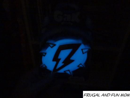 Glow in the dark gak in the closet