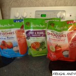 Jamba Smoothie Kits Review and Giveaway! All Natural With Fruit, Yogurt, and Vitamin C!