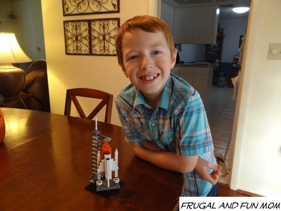Mission accomplished Nanoblock Space Shuttle together.