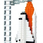 Nanoblock Space Shuttle Review!  It Put My Son's Building Ability To The Test!