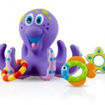 Nuby Octopus Floating Bath Toy Review and Giveaway! Fun For Both My Baby and Preschooler!