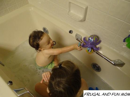 Nuby Octopus playtime