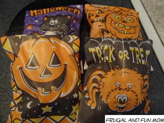 Palmer Halloween desserts in packages