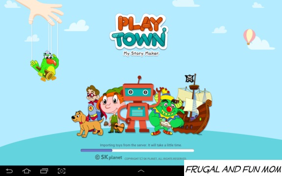Screenshot Intro PlayTown