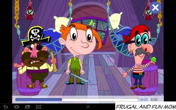 Screenshot PlayTown Pirates