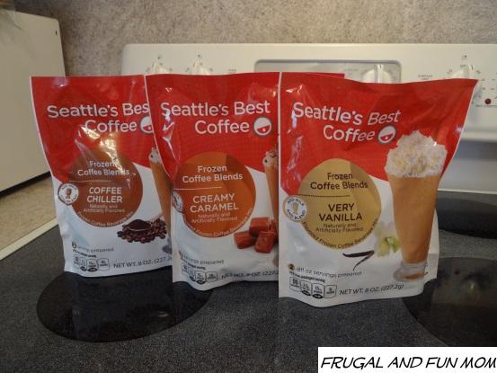Seattles Best Frozen Coffee Blends Varieties