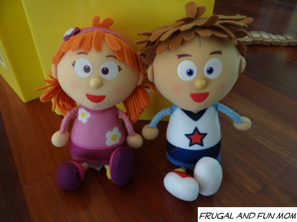 Tallulah and Tommy from Tickey Toc dolls