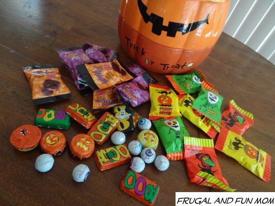 Varieties of Palmer Halloween Candy