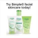 FREE Beauty Care Sample Alert! Simple Facial Skincare!