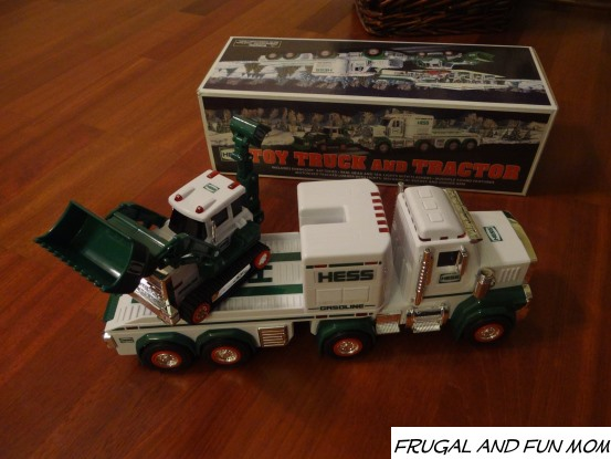 The 2013 Hess Toy Truck Is Here, Complete With Sounds and A Tractor With Movable Parts!