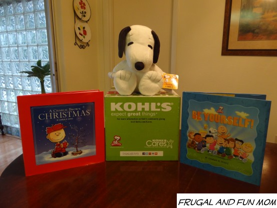 Kohl's Cares Snoopy and Peanuts Books