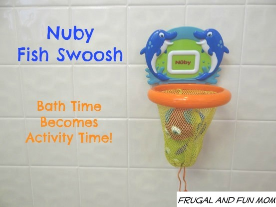 Nuby Fish Swoosh in Shower