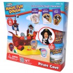 RoseArt Magic Fun Dough Pirate Cove Review!  Fun Times With Magic Transfers and Imagination!