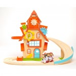 New Tickety Toc Toys are at Toys R Us! Enter For A Chance To WIN a Clockhouse Train Set!