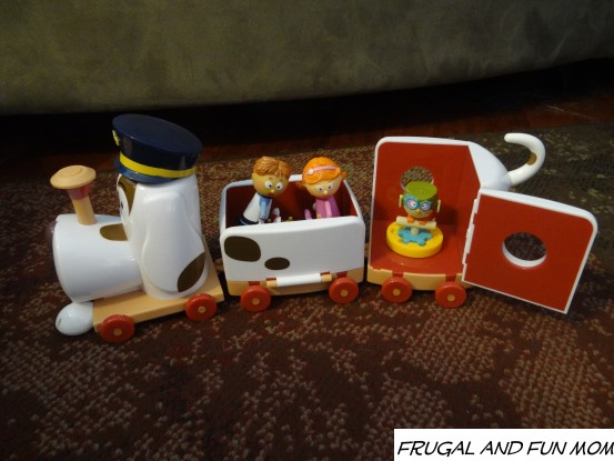 Tickety Toc Pufferty Train Picture Toy