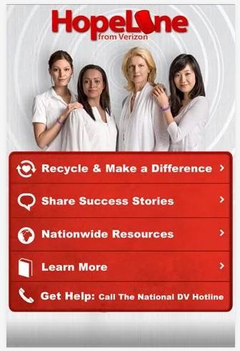 Verizon Hopeline App