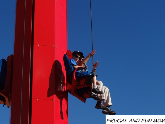 A hands on ride at Legoland