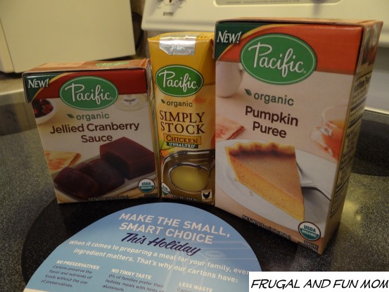 Carton Smart with Pacific Foods Cranberry, Stock, Pumpkin Organic