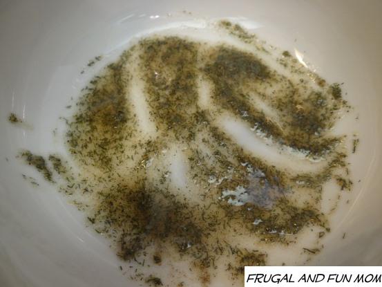 Dill Grapeseed Oil rub