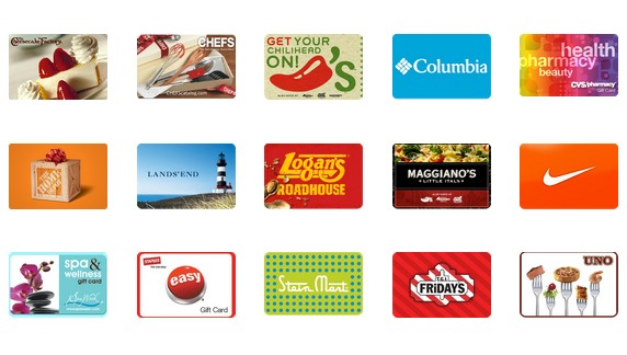 Gift Card Examples at Hip Chip