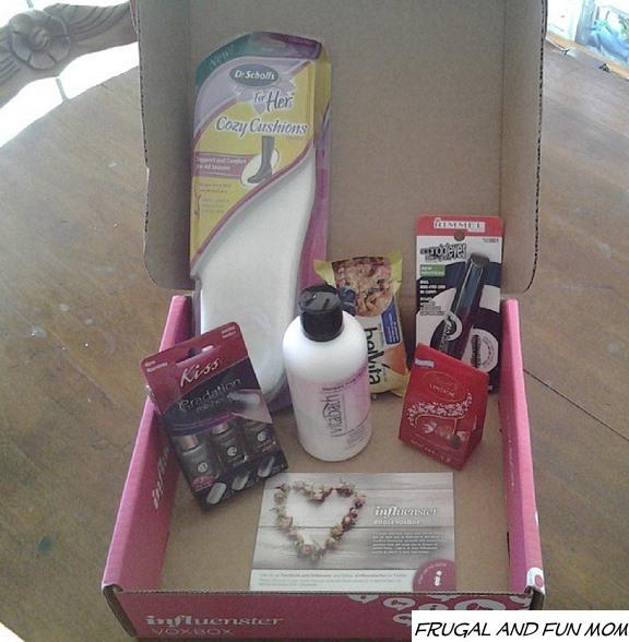Influenster Rose Vox Box