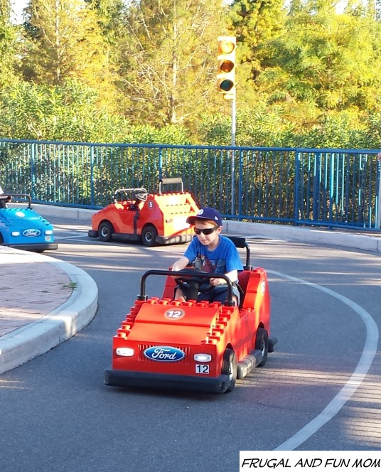 Learning to drive at Legoland