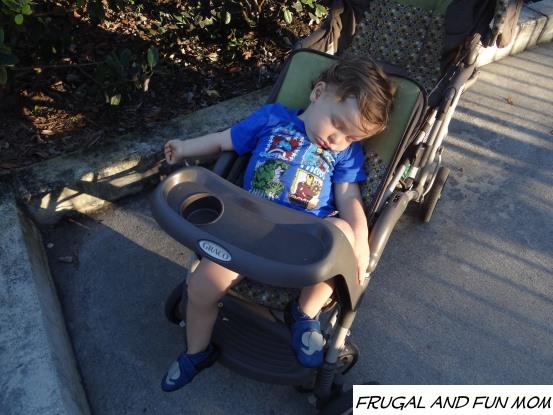 Sleepy Baby at Legoland