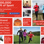 "Sports Authority $500,000 Gift of Sport Holiday Sweepstakes! ""The League"" Members Earn Extra Entries With Purchases!"